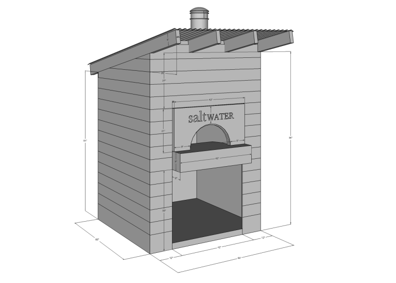 plans for wood oven